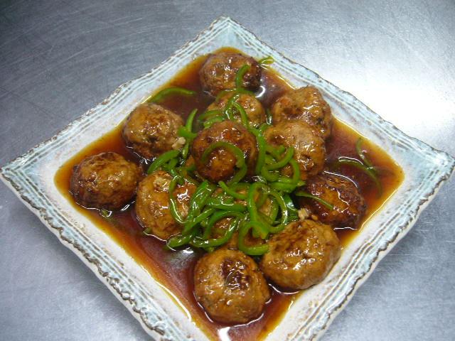 豆腐とおからパウダーの肉だんご。。