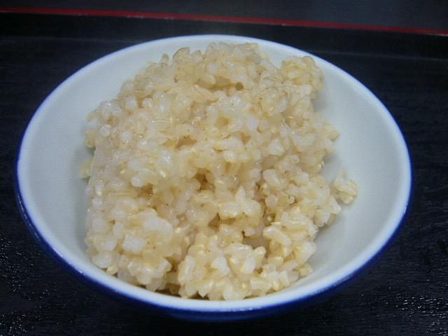 玄米が食べたくて。。
